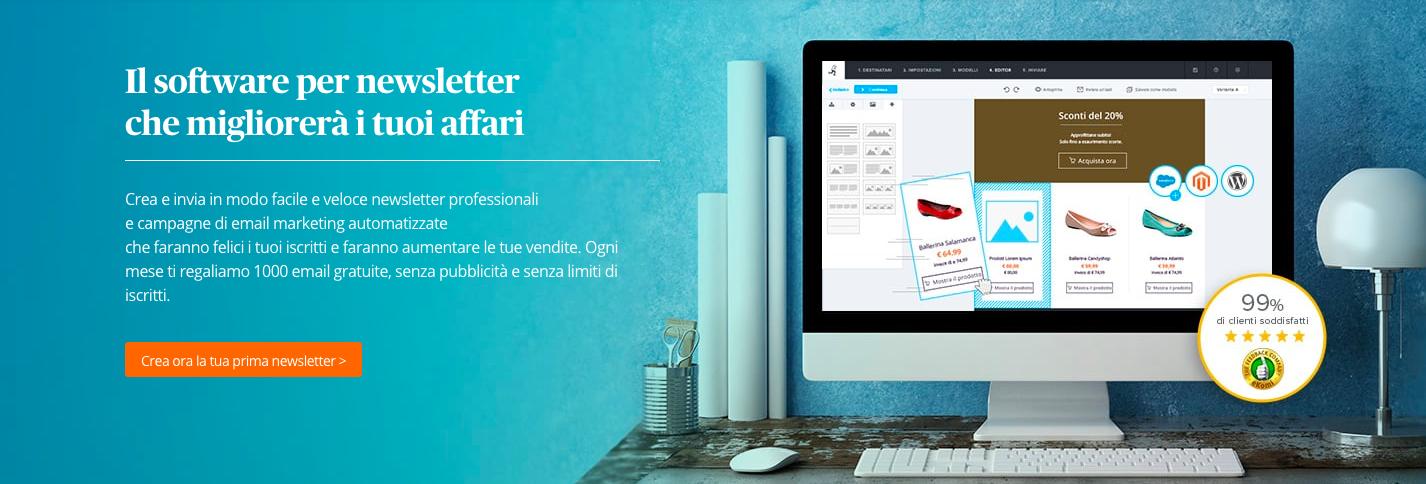 Recensioni Newsletter2Go: Software di email marketing facile e gratuito - Appvizer