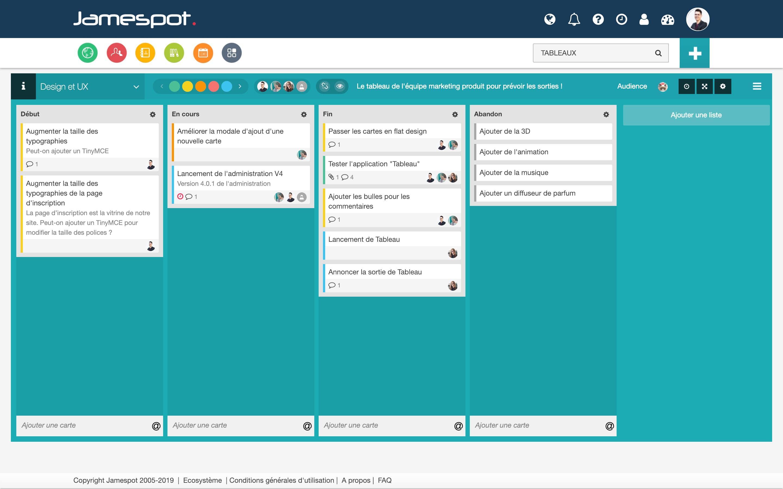 Crea delle tabelle, personalizza le colonne, aggiungi semplicemente delle carte e gestisci il tuo progetto!