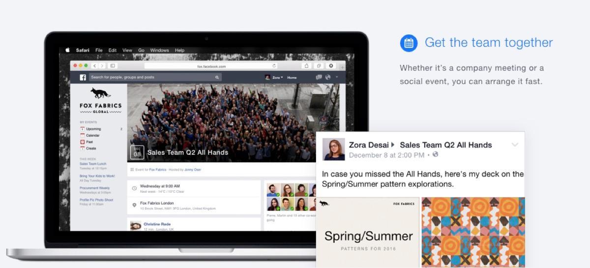 Facebook sul lavoro: Creazione di gruppi