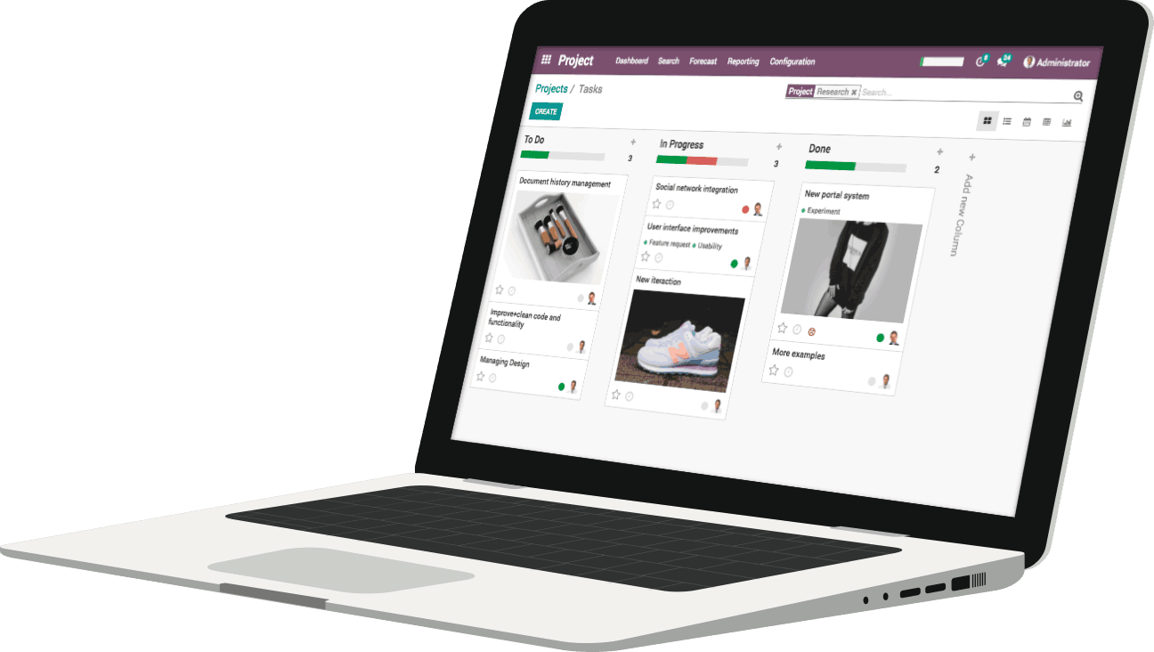 Odoo Invoicing-home_laptop