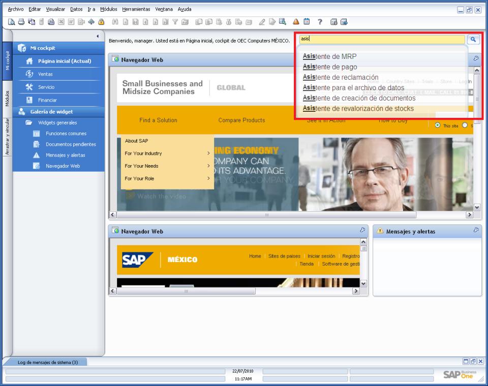 SAP Business One-screenshot-0