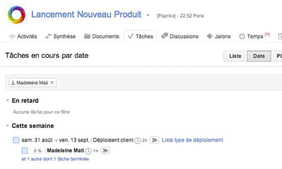 GroupCamp Progetto: Rights Management, Creazione di processi per e-mail, tenere traccia dei progressi