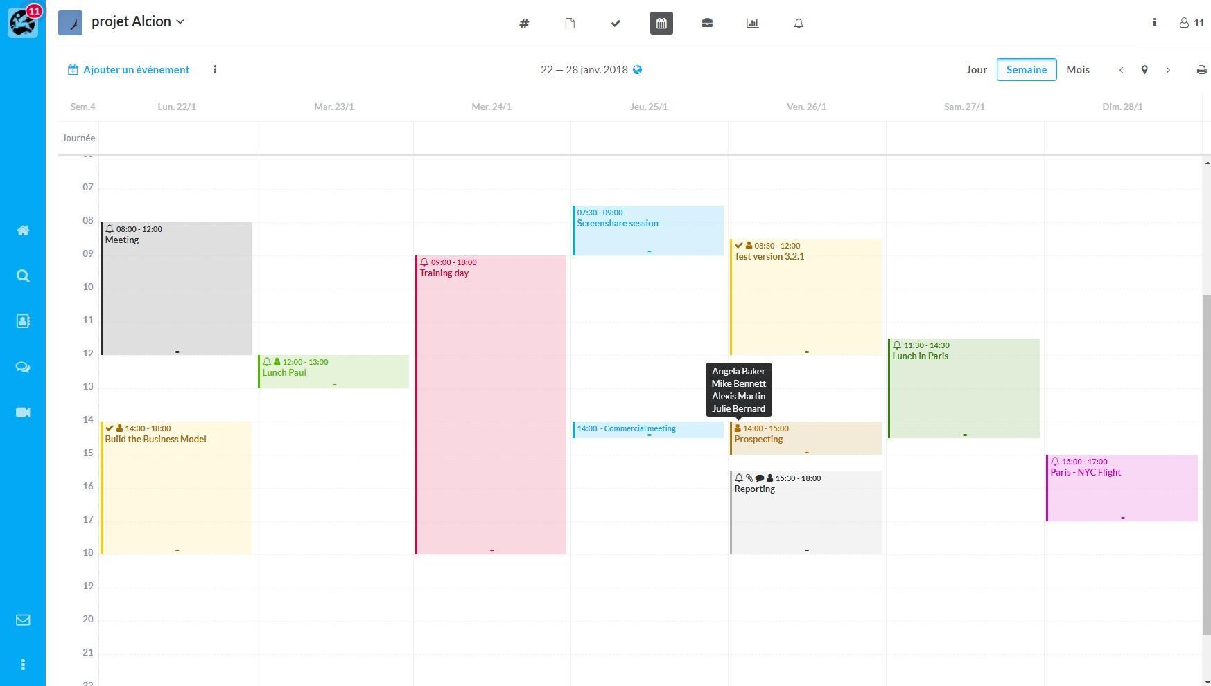 Calendario condiviso