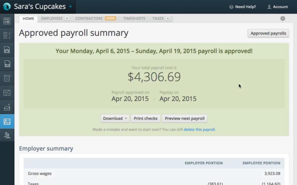 Payroll da Wave-screenshot-0