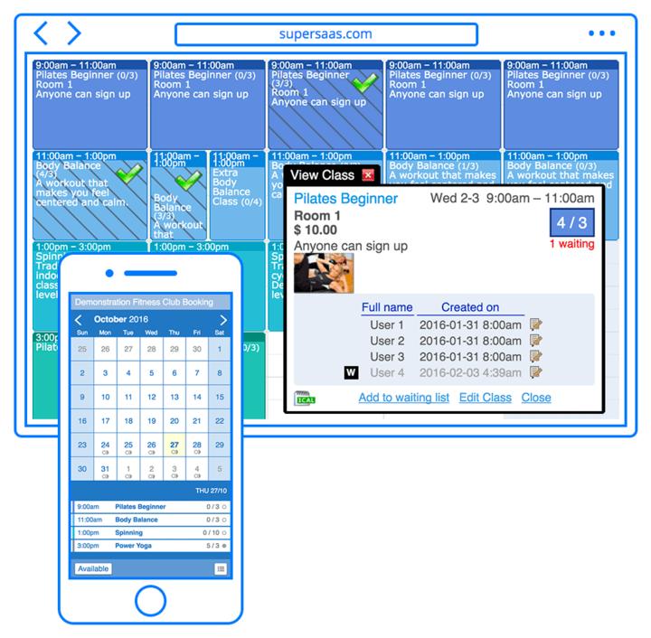 SuperSaaS Appuntamento Schedule-screenshot-1