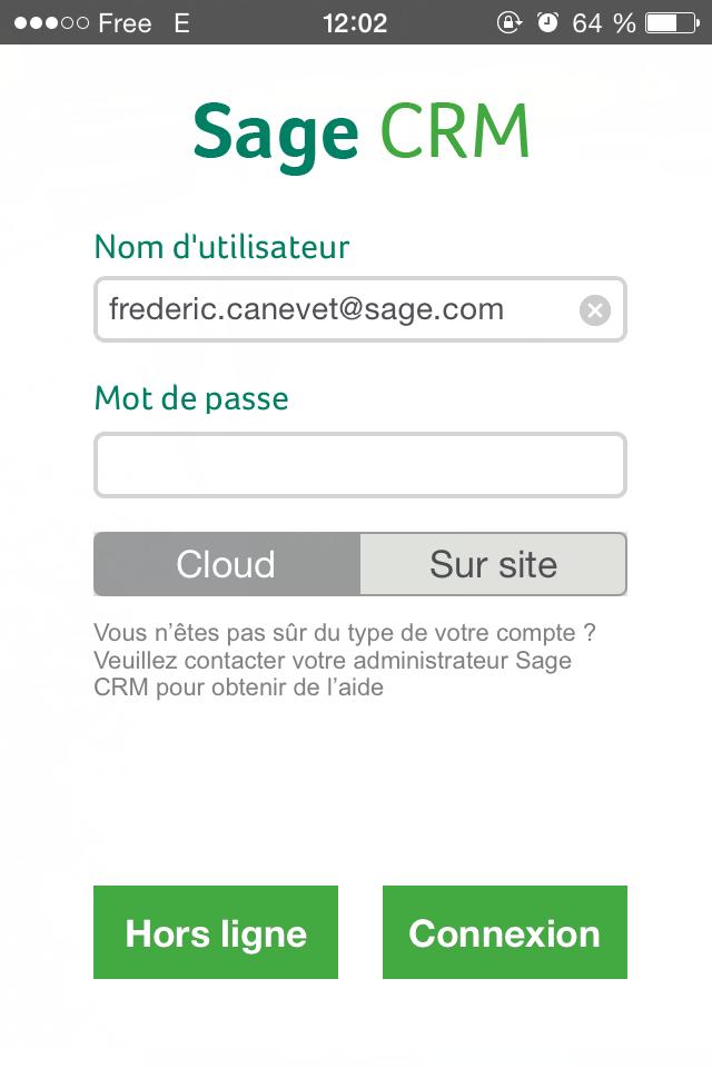 CRM: layout e temi Ordine, Gestione utenti