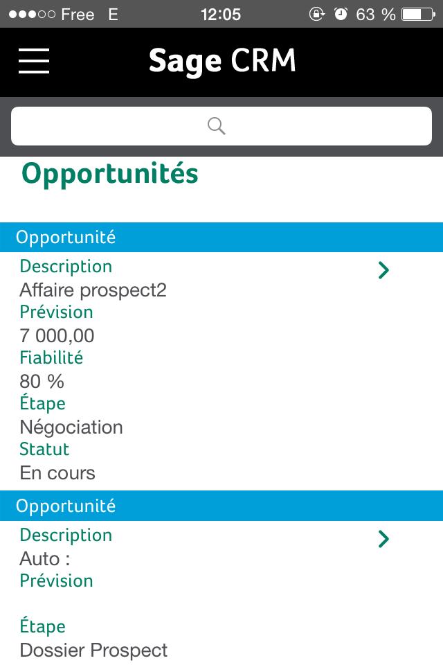 supporto Sage CRM soluzioni di gestione (telefono, email, ticket), i rapporti post-campagna