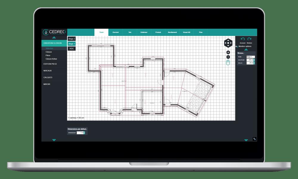 Disegna il tuo piano 2D casa con i nostri strumenti di supporto per la trama