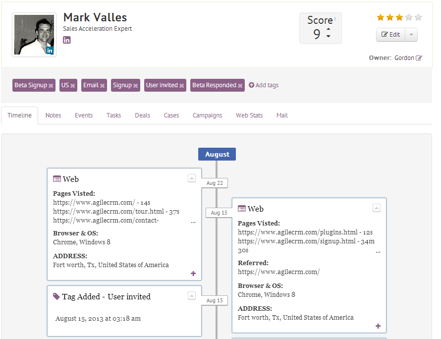 Agile CRM-screenshot-3