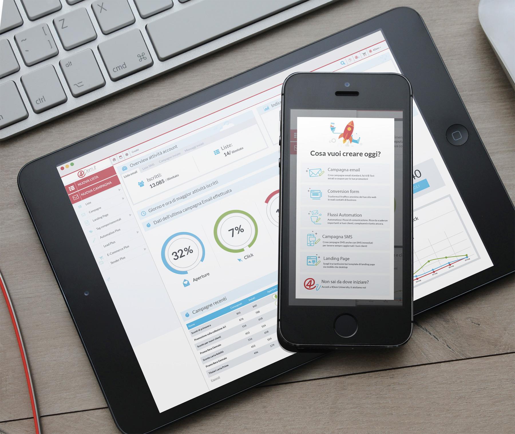 Recensioni 4Dem.it: La piattaforma per Email ed SMS Marketing 100% Italiana - appvizer