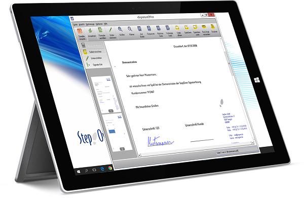 eSignatureOffice-Signatur-Software-eSignatureOffice-StepOver