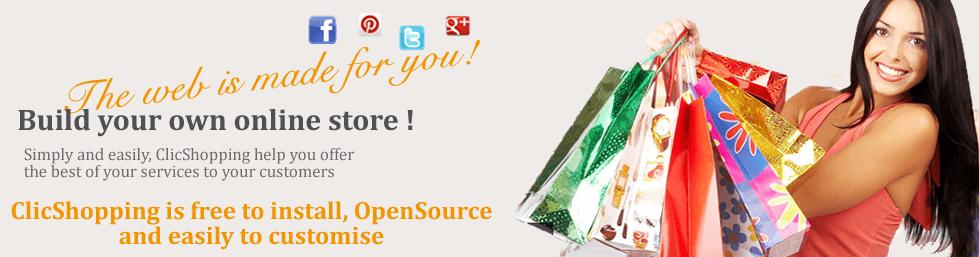 Recensioni ClicShopping: E-commerce open source B2B / B2C, gratuito, facile da usare - Appvizer