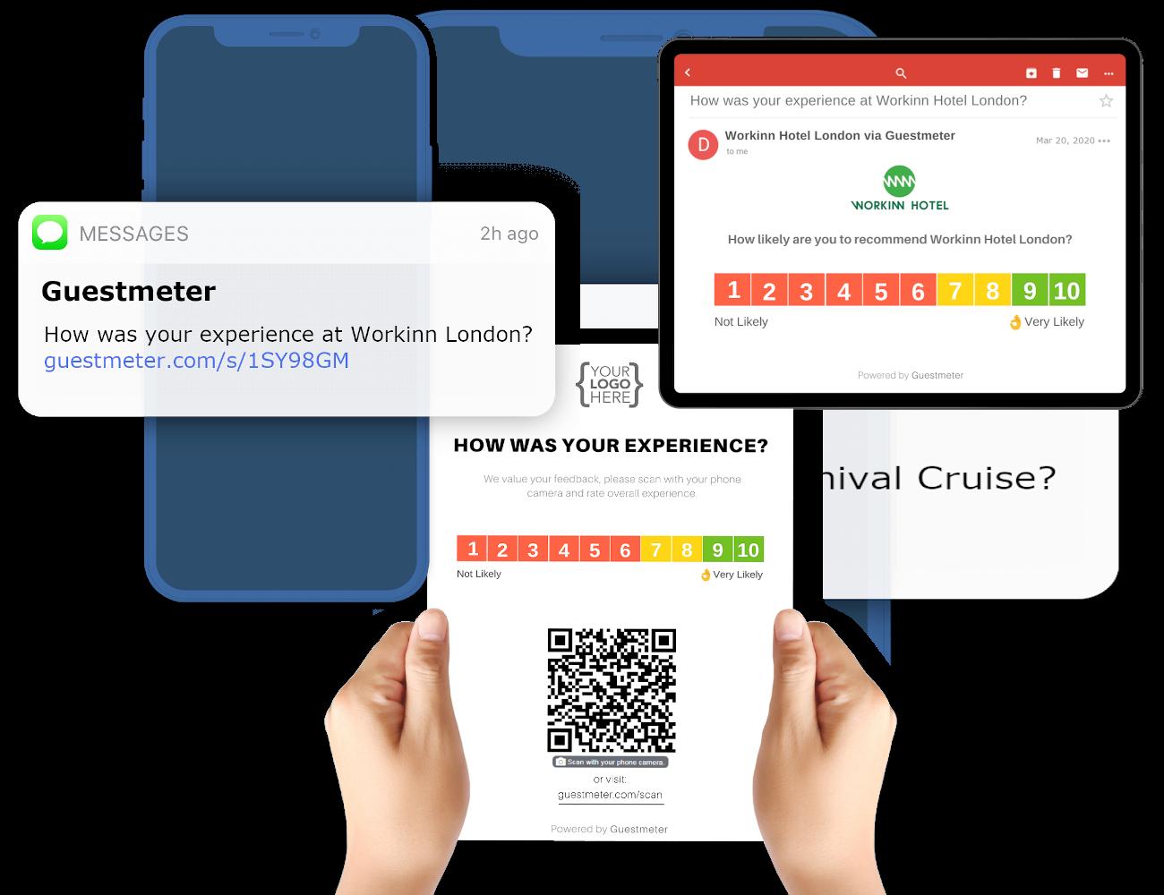 Software di gestione feedback degli ospiti