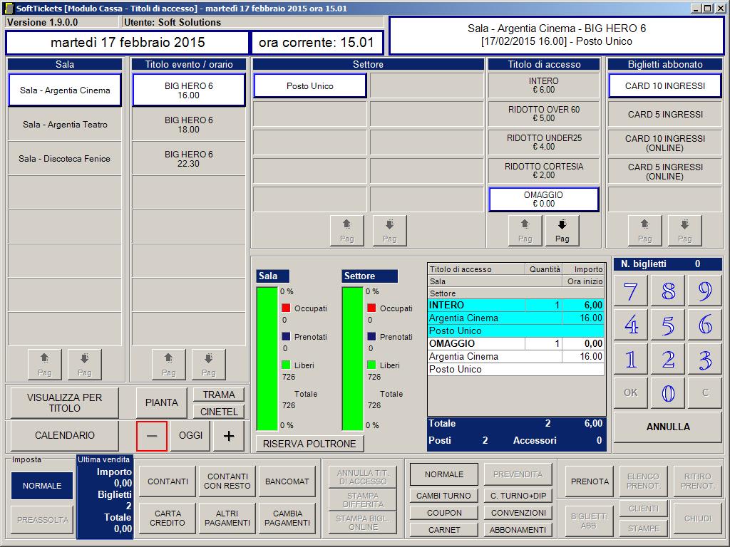 Recensioni SoftTickets: Soluzione per la biglietteria automatizzata - Appvizer