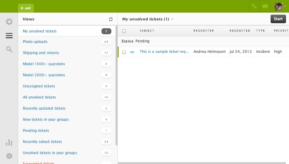 Zendesk: Mappatura del nome di dominio, profilo del cliente, gestione dei fascicoli