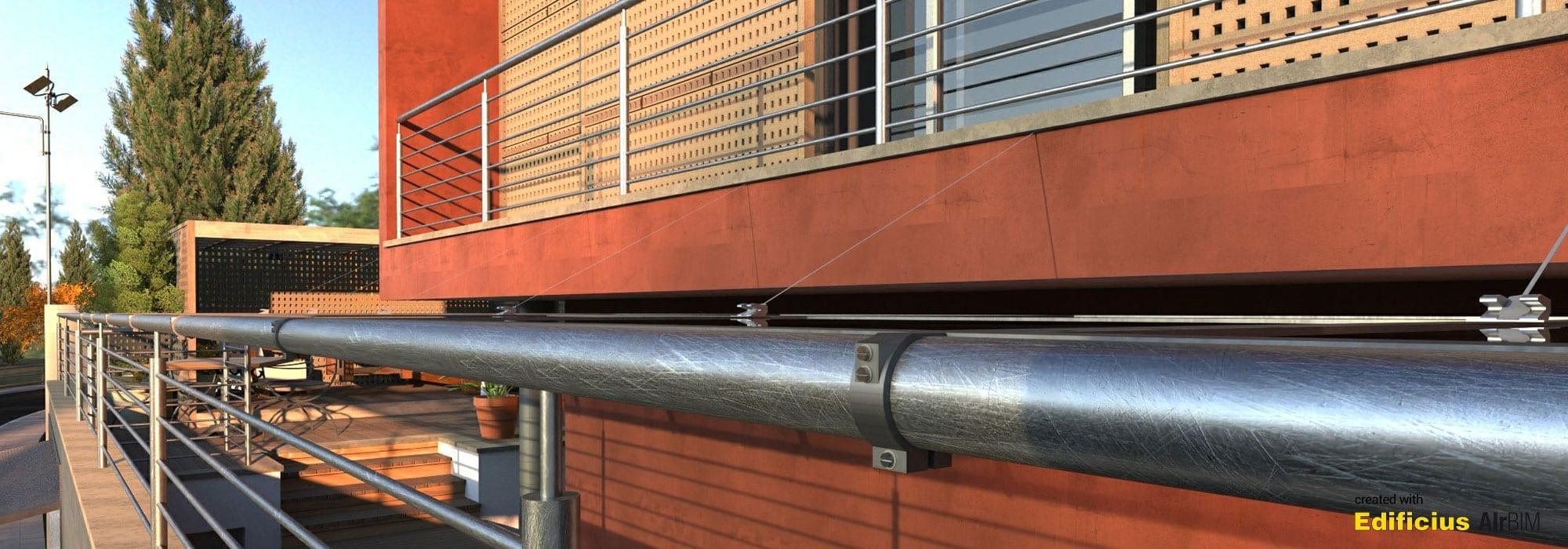 Render esterno edificio