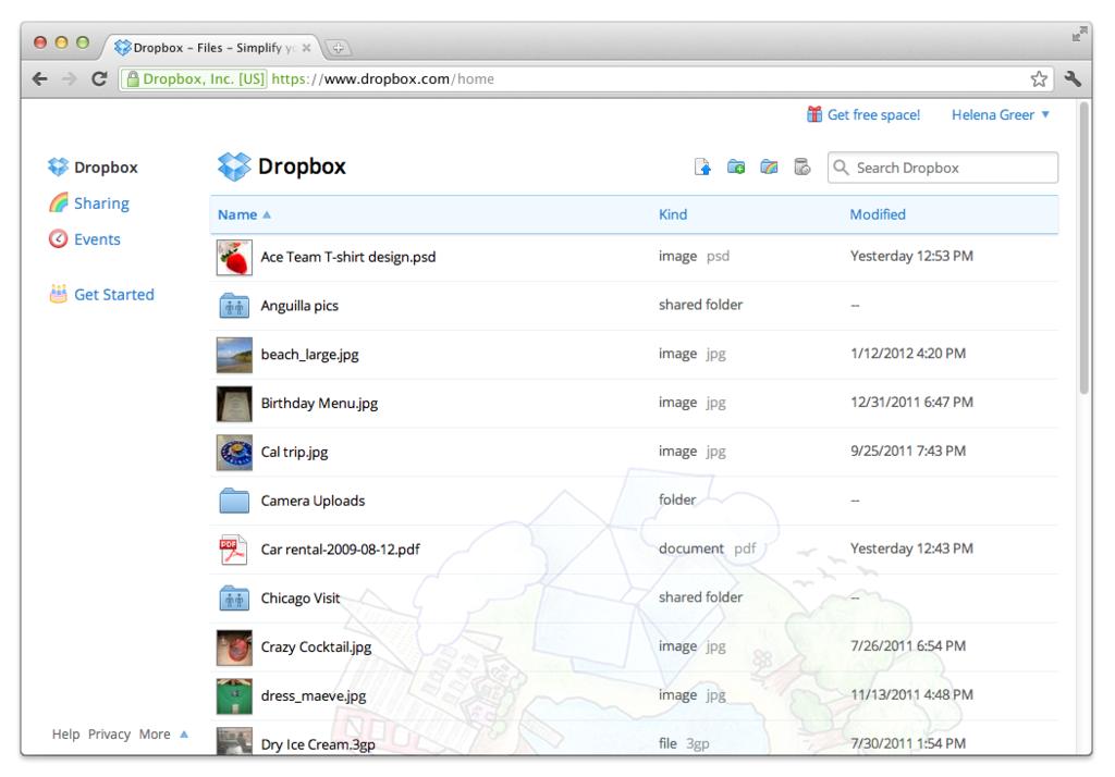 DropBox: documenti Sync, il rigoroso controllo di accesso ai server, backup giornaliero