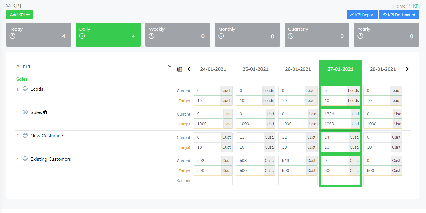 FlowyTeam-KPI