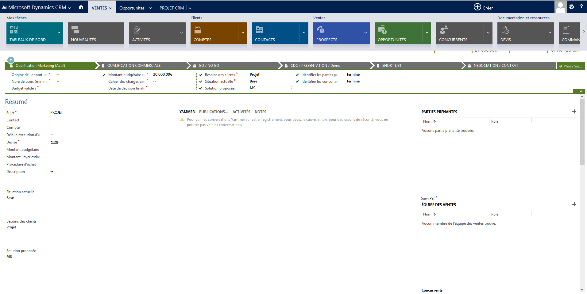 Microsoft Dynamics CRM: Service Level Agreement (SLA), Telefono, Mobile Application