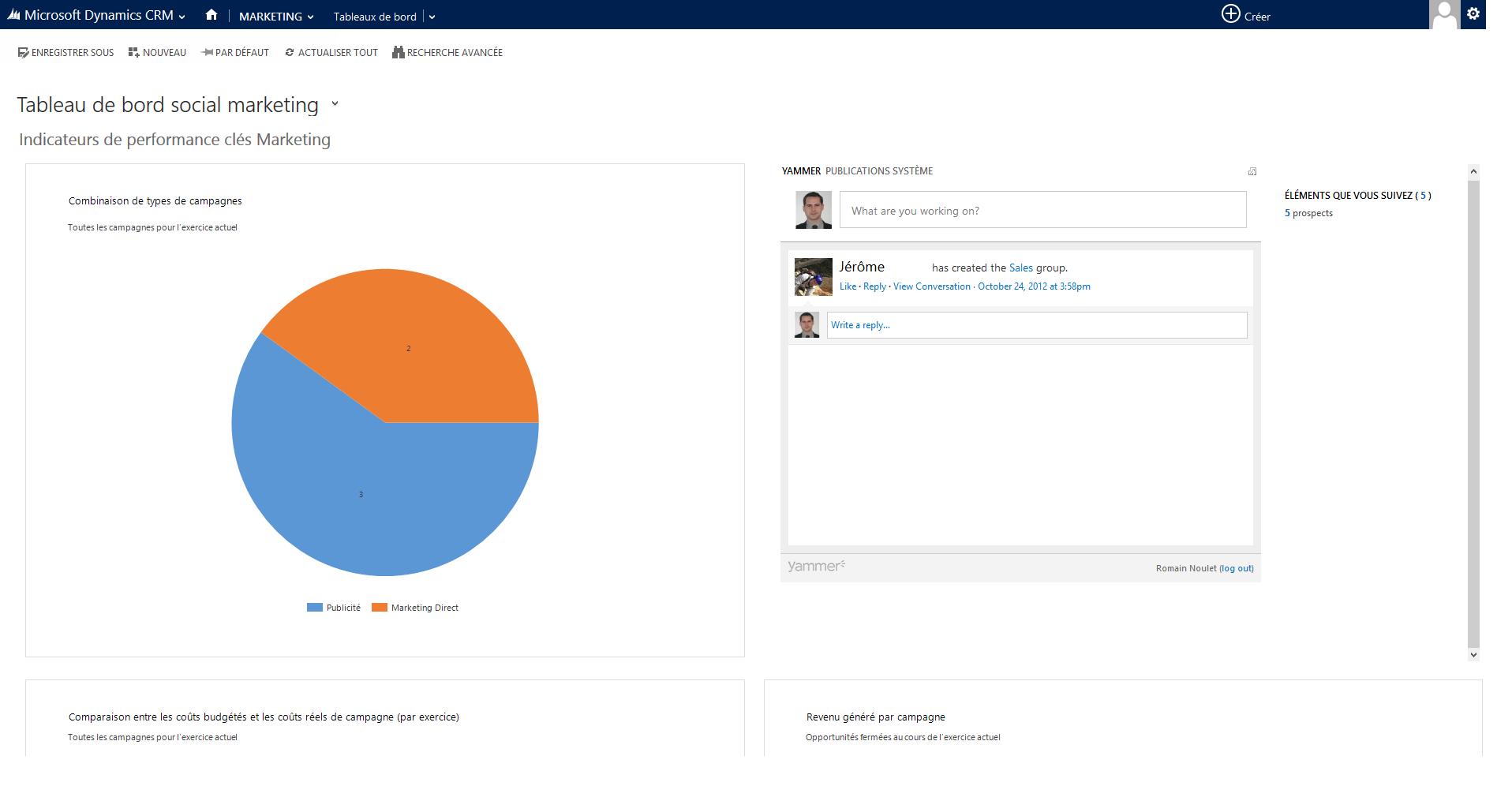 Microsoft Dynamics CRM: Tipo di contatto, l'assicurazione contro la perdita di dati, etichette