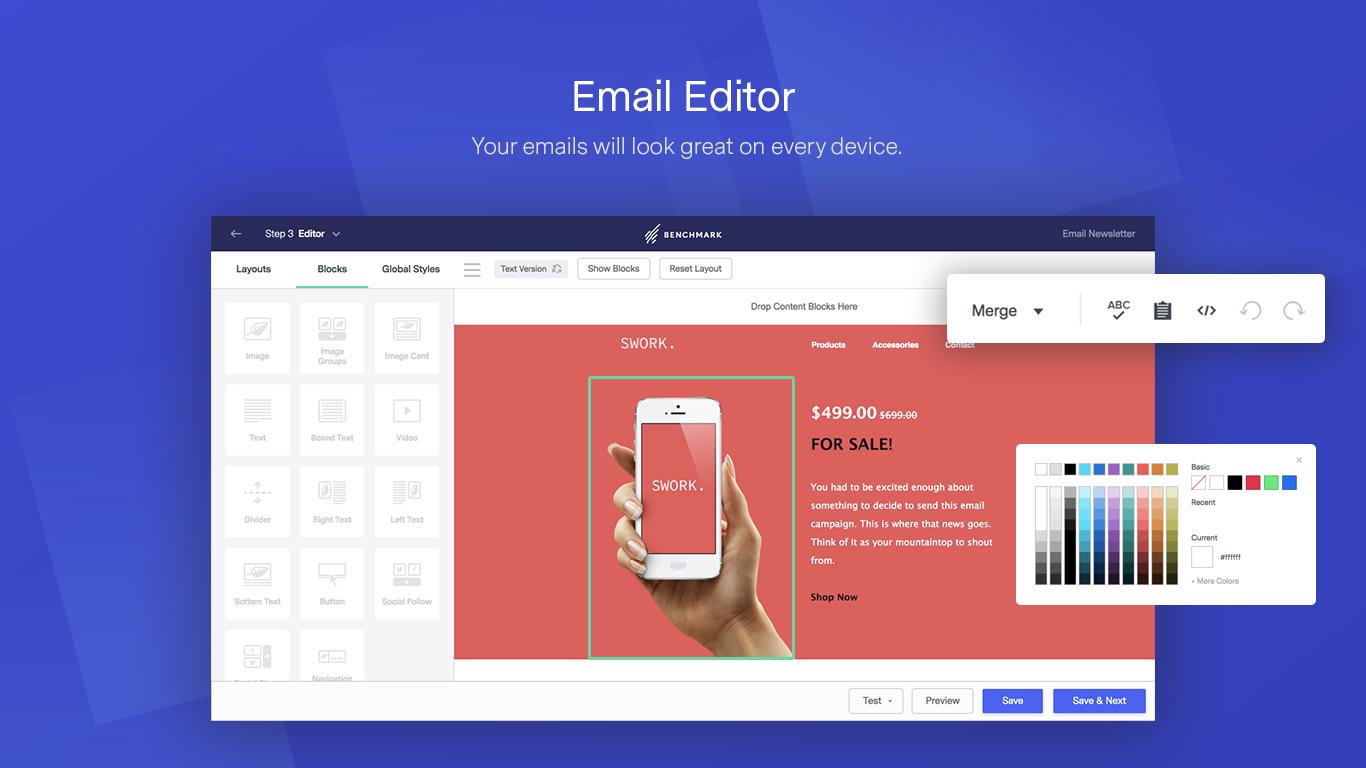 Benchmark Email - Le tue email avranno un aspetto unico