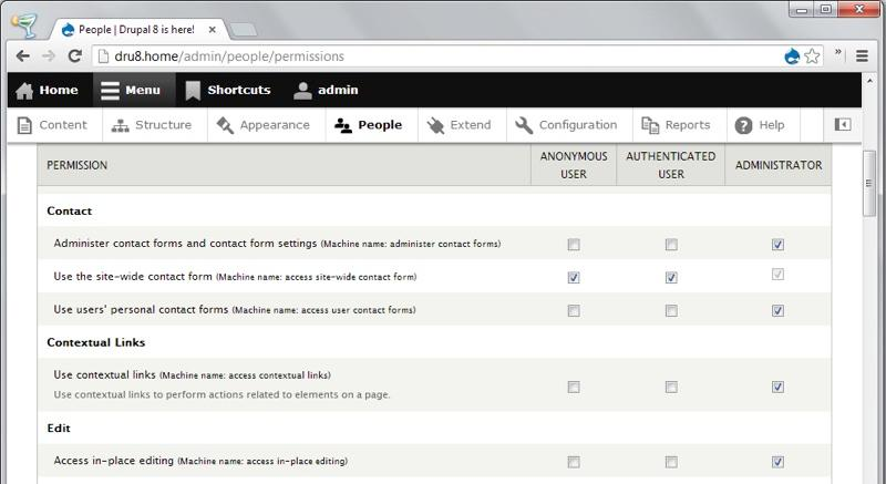 Drupal: Logo personalizzabile, RSS feed management, gestione dei diritti