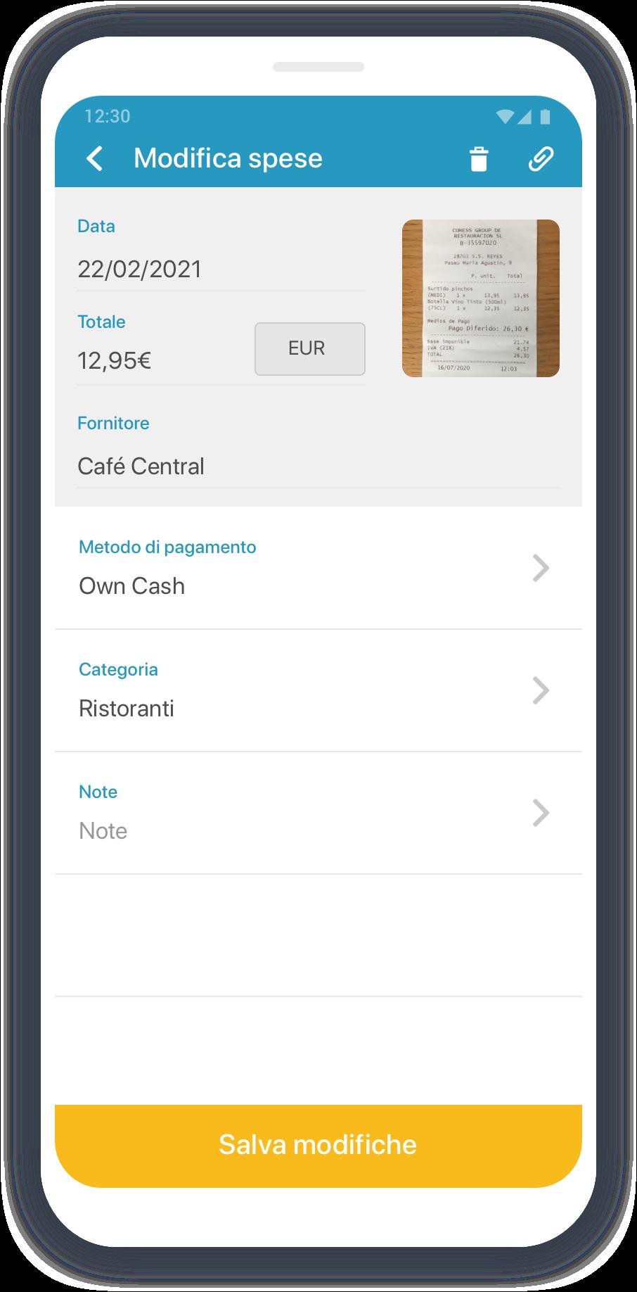 Emburse Captio-IT-App-Expenses-Detail