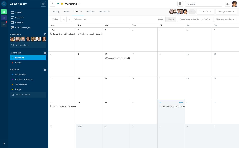 calendario View