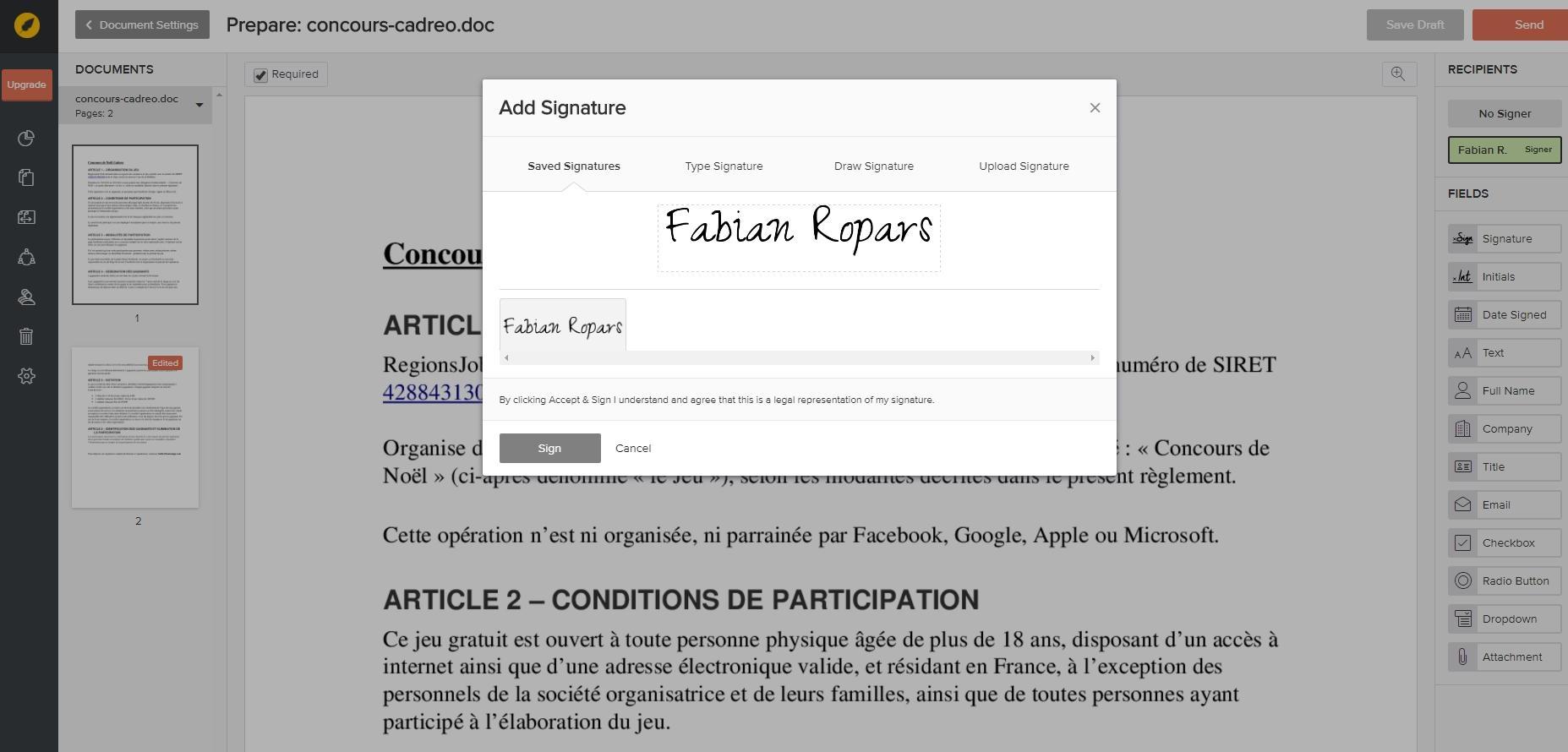 Recensioni eversign: Software di firma elettronica - Appvizer